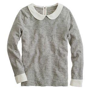 J Crew Peter Pan collar sweater